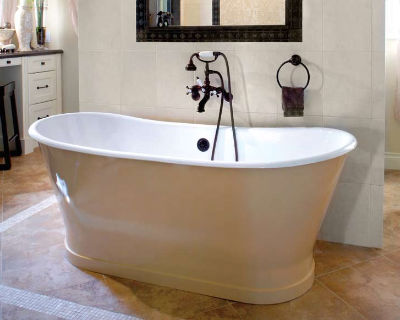 овальная чугунная ванна