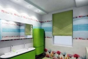 потолки из гипсокартона в ванной комнате