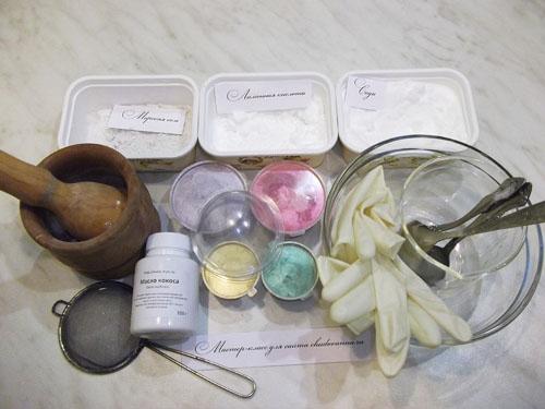 бомбочки для ванной фото
