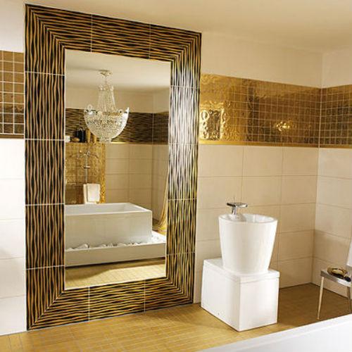 плитка в интерьере ванной комнаты фото