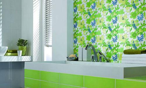 дизайн керамической плитки для ванной фото