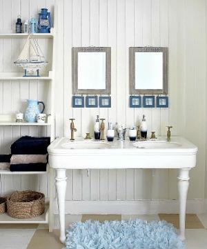 декор ванной комнаты в мосрком стиле фото