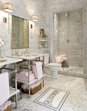 декор ванной комнаты в стиле прованс