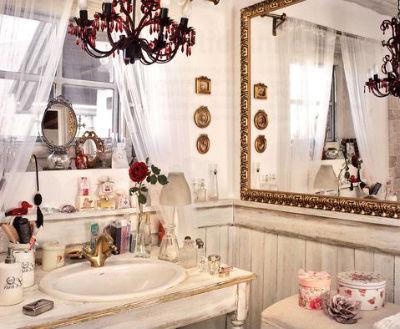 декор ванной в стиле прованс