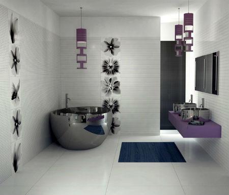 ванна в стиле хай тек фото