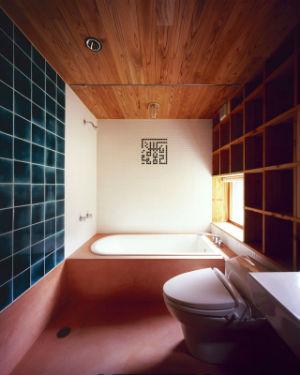 ванная в деревянном доме фото