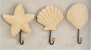 крючки для полотенец в ванне в морском стиле