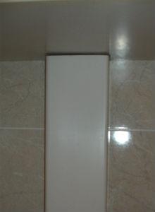 пластиковый короб для труб в ванной