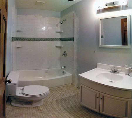 совмещенный санузел с ванной