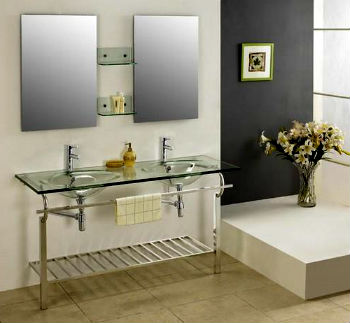 двойная раковина для ванной фото