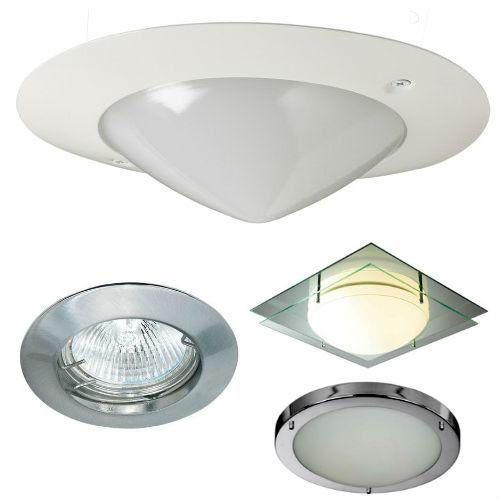 точечные светильники для ванной