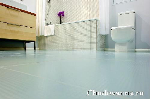 Плитка для пола в ванной