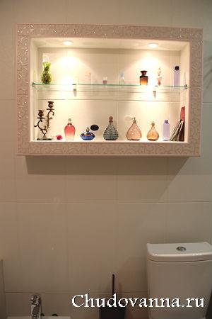 короб для маскировки труб в ванной