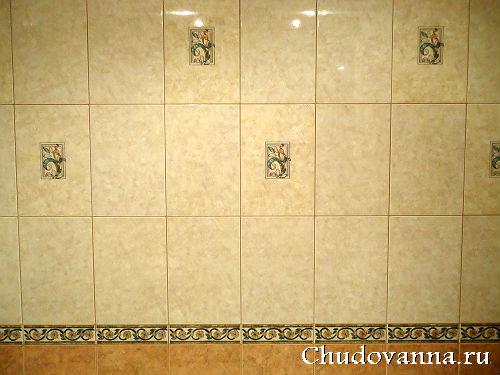 расцветка кафеля в ванной