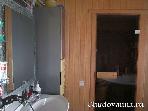 мини-сауна в ванной