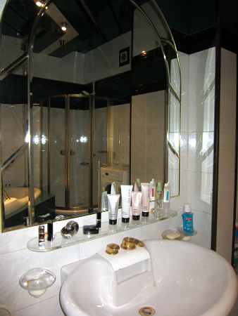 умывальник в ванной