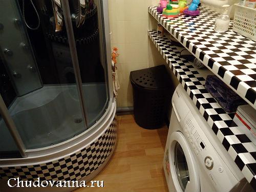 полки в ванной для хранения вещей