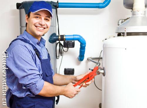 Как слить воду из водонагревателя (бойлера)?