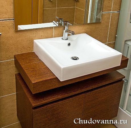 квадратная раковина для ванной фото