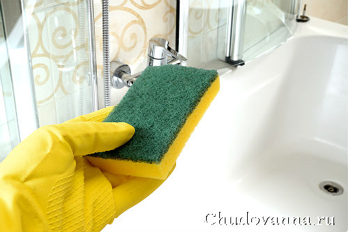 Как отчистить ванну до бела?