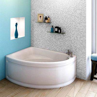 Маленькая угловая ванна фото
