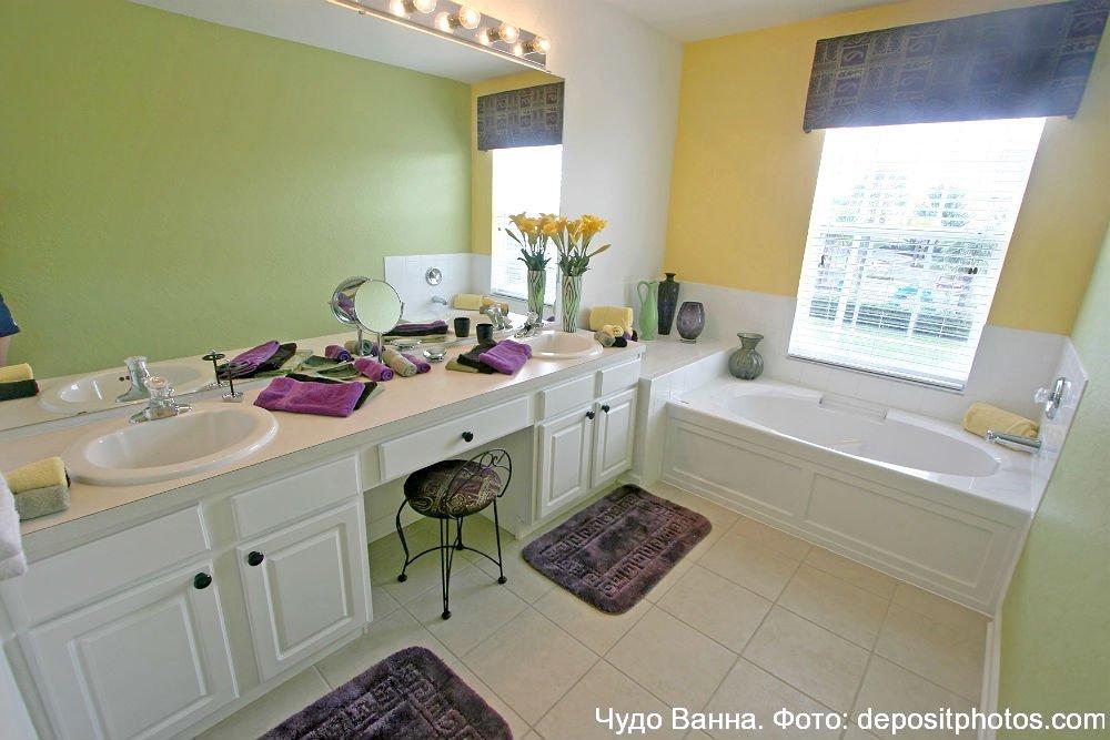 ванная комната с душем дизайн фото