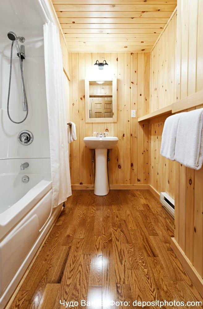 Ванная комната вагонкой пластиковой дизайн 97