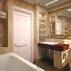 Дизайнерские решения в интерьере большой ванной