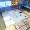 Ванная комната с джакузи в полу