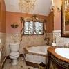 Шикарная ванная комната в классическом стиле