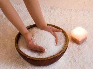 ванночки для ногтей с мосркой солью