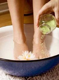 ванночки при потливости ног в домашних условиях