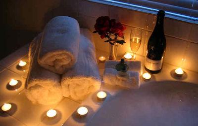 романтическая ванна