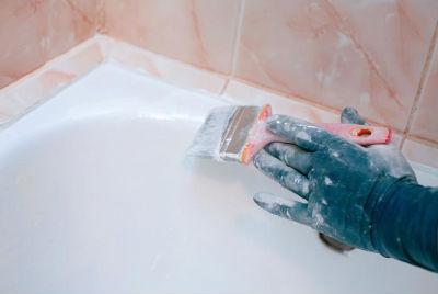 Обновить эмаль ванны своими руками