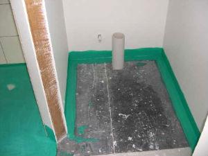Оклеечная гидроизоляция для ванной комнаты максимальная толщина слоя шпатлевки