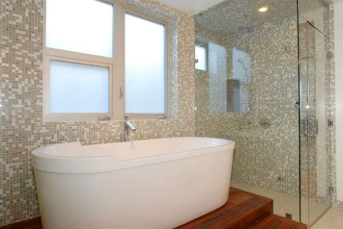 мозаика для ванной комнаты фото
