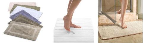 коврик для ванной с микроволокном