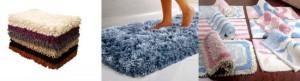 моховый коврик для ванной