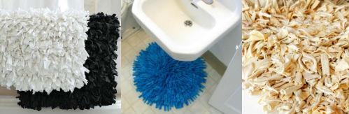 текстильный коврик для ванны своими руками