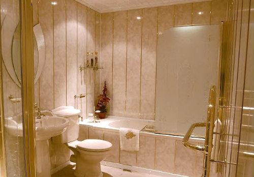 пластиковые панели в ванной фото