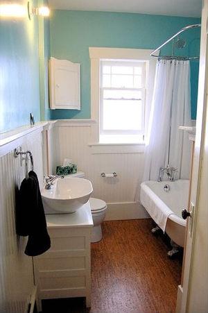 дизайн маленькой ванной комнаты с