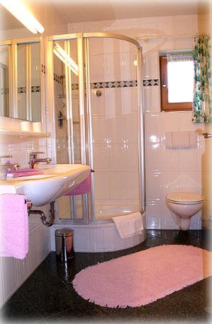 душевая кабина в интерьере маленкьой ванной комнаты