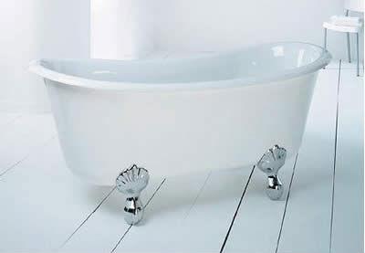 акриловая ванна в стиле прованс
