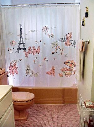 ширма для ванны в стиле прованс