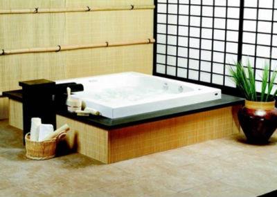ванная комната в японском стиле
