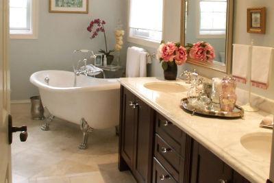 декор ванной в классическом стиле фото
