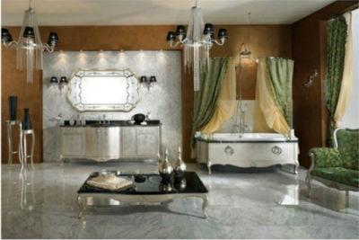 декор ванной в классическом стиле