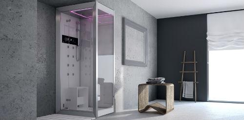 ванная комната в стиле хай тек