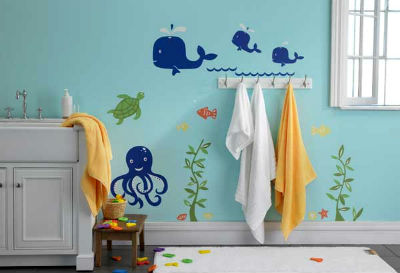 ванная в морском стиле фото