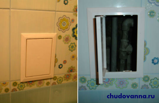 как закрыть трубы в ванной фото